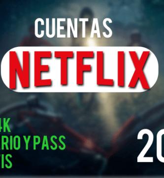 cuentas netflix gratis 2019